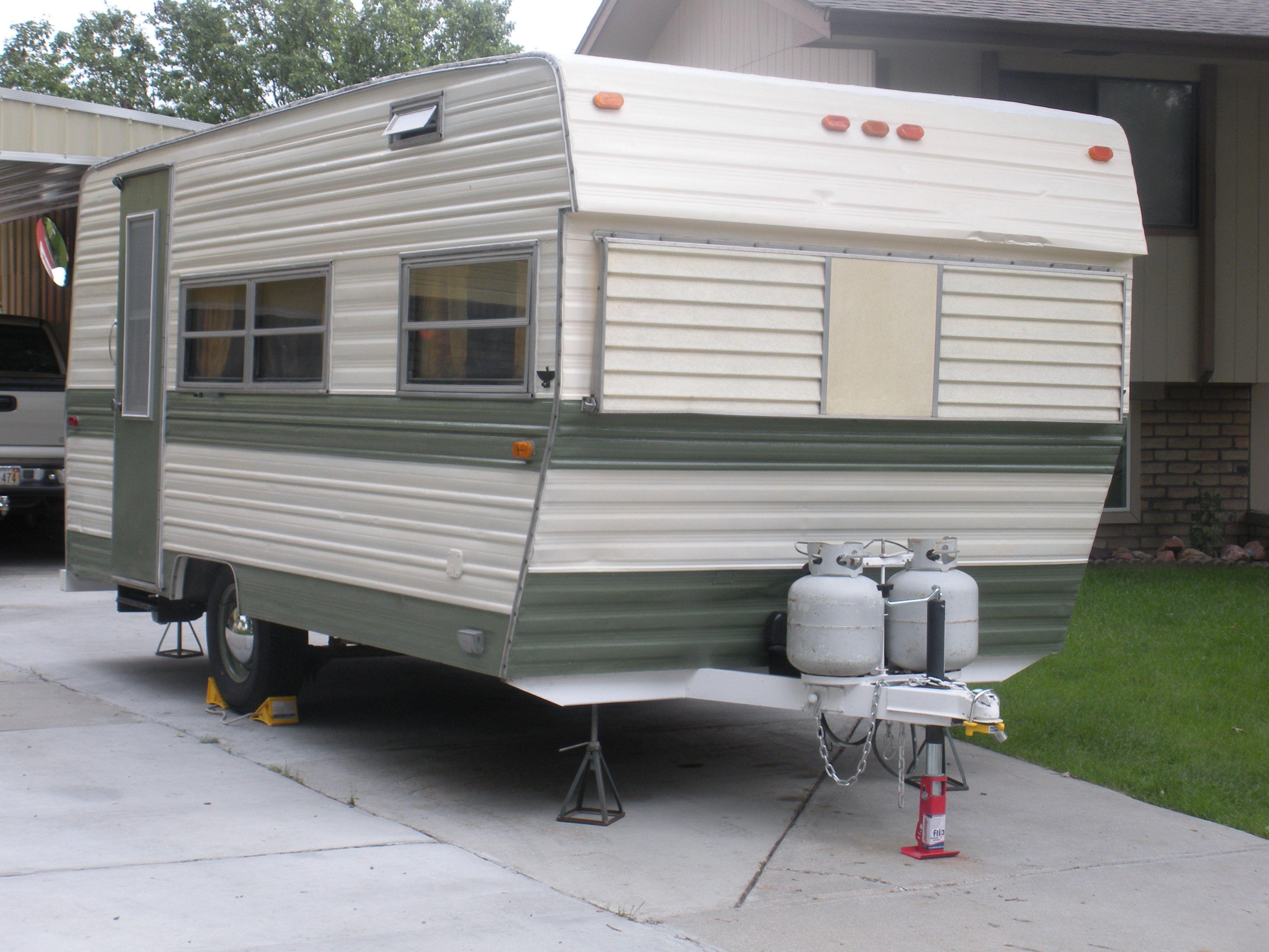remodeled 1972 prowler camper  [ 3648 x 2736 Pixel ]