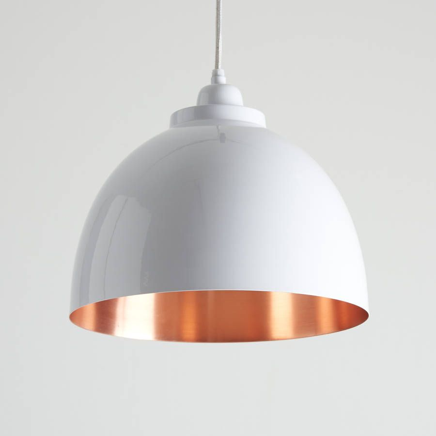 Copper Detailed Pendant Light