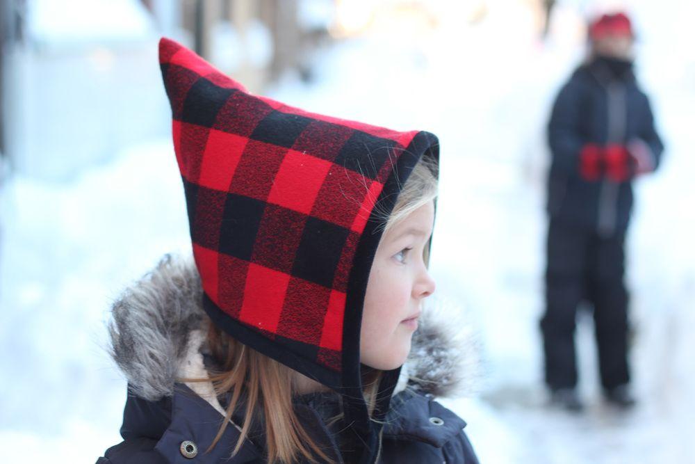 Blizzard Bonnet : Free Pattern and Tutorial | Kopftuch nähen, Kinder ...