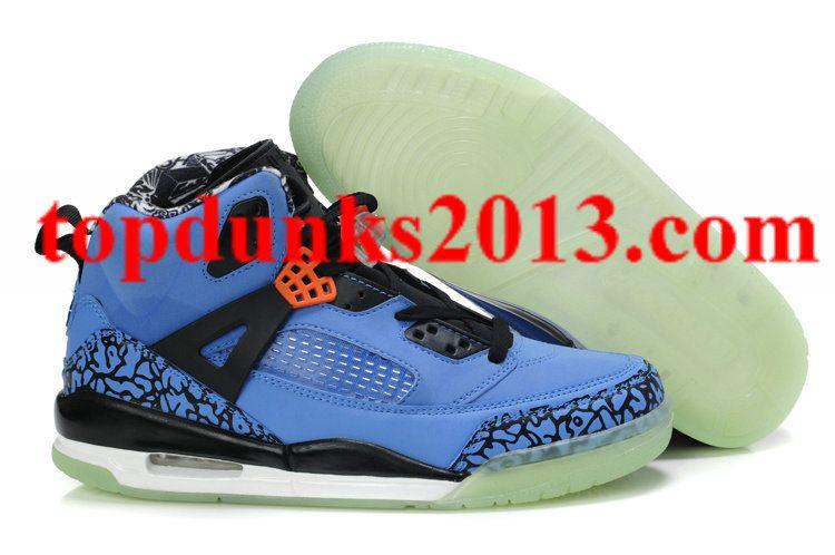 best sneakers 94c67 2c038 Outstanding Glow In The Dark Nike Jordan 3.5 Sole Blue Black