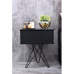 bedside tables bedside cabinets sets wayfair co uk furniture rh pinterest com