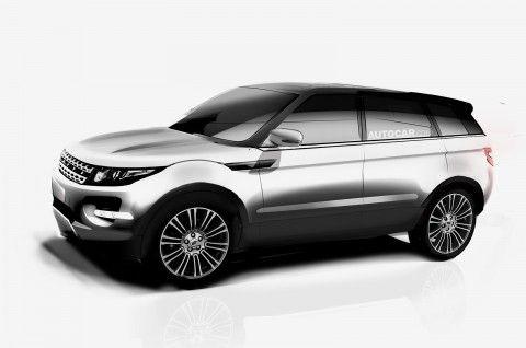 'Range Rover Evoque XL' for 2016 gets green light from Land Rover www.truefleet.co.uk