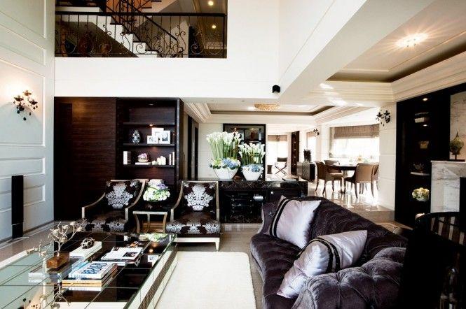 Eine zeitgenössische klassische Wohnung - #Wohnideen | Wohnideen ...