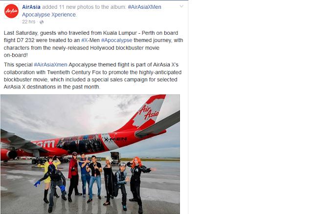 social media marketing airasia airasiaxmen apocalypse check rh pinterest co uk