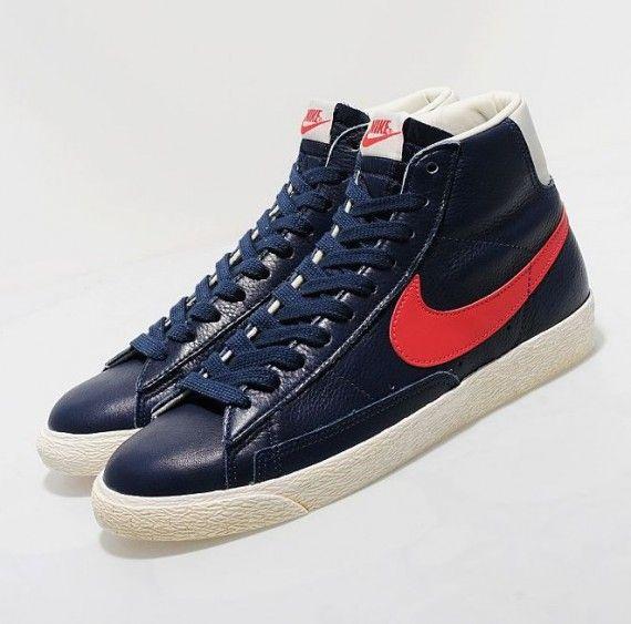 Nike Blazer Aile Rouge Salut Vendange ebay en ligne wqUmfwT