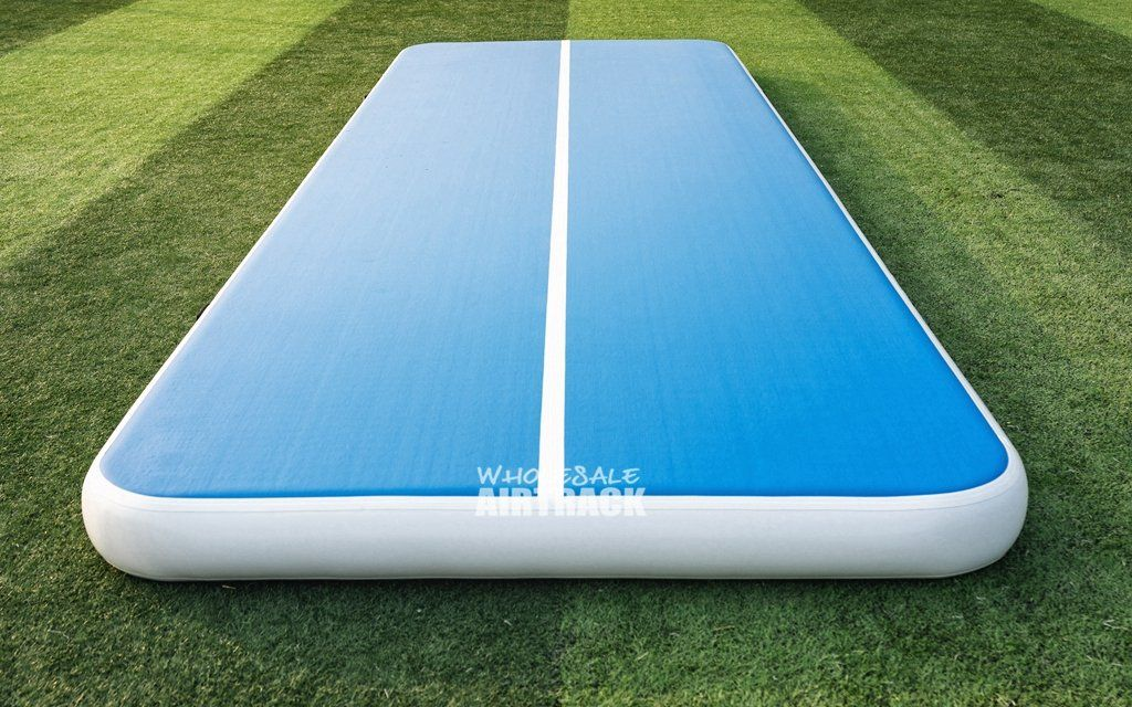 Hot Selling Blue And White Airtrack Air Tumble Track Air