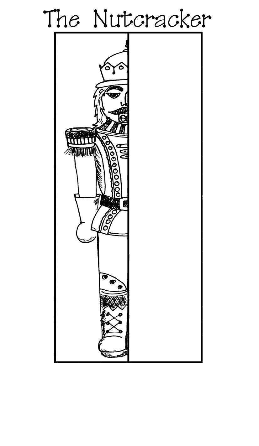 Christmas Nutcracker Coloring Page Free Christmas Coloring Pages Coloring Books Christmas Coloring Pages