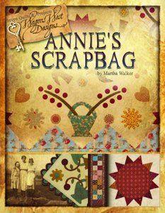 Auntie Ju's Quilt Shoppe  - B Annie's Scrapbag, $24.50 (http://stores.auntiejusquiltshoppe.com/b-annies-scrapbag/)