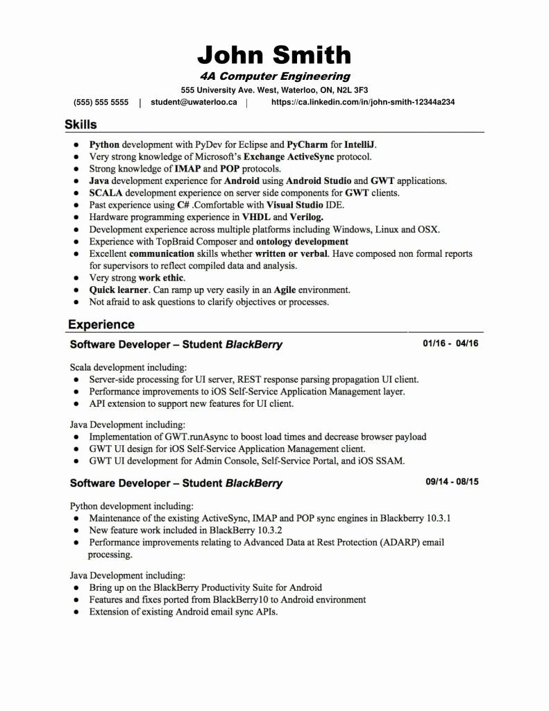 Engineering resume examples for students luxury resume