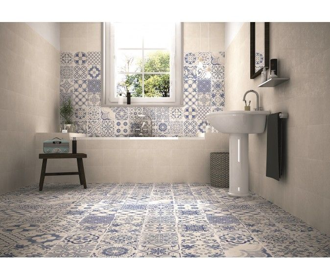 Skyros Delft Blue Wall and Floor Tile