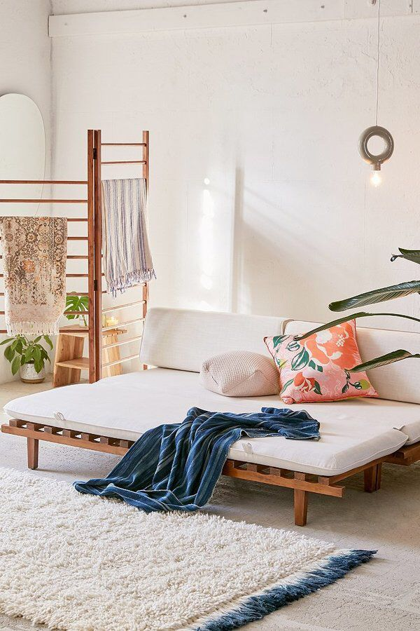 Urban Outfitters Osten Convertible Daybed Sofa Urban