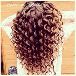 How To Create Big Bouncy Curls Easy With Images Curls For