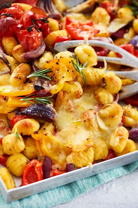 Photo of Oven Gnocchi with Colorful Energy Veggies Recipe | DELICIOUS