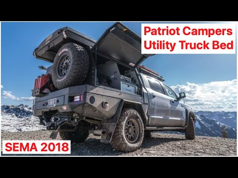Australian utility truck bed by Patriot Campers SEMA 2018