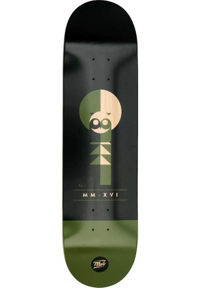 MOB-Skateboards Eulen-Tough-Cats - titus-shop.com  #Deck #Skateboard #titus #titusskateshop