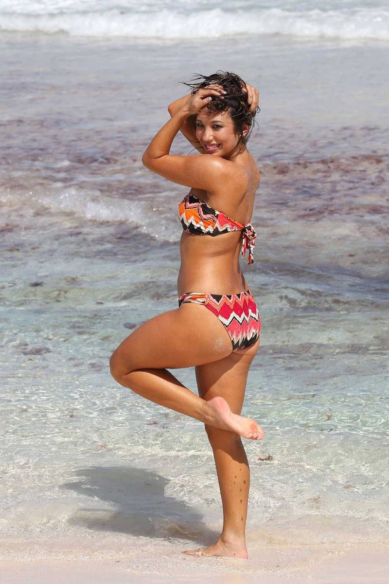 Cheryl Burke Love The Bikini Print