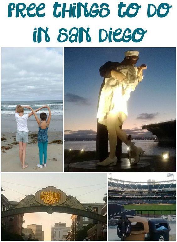 10 Free Things To Do In San Diego San Diego Travel San Diego Vacation San Diego California