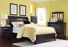 farnsworth sleigh storage bed by broyhill furniture storage spaces rh pinterest com