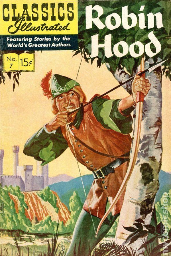 classics illustrated 007 robin hood comicbookgenres