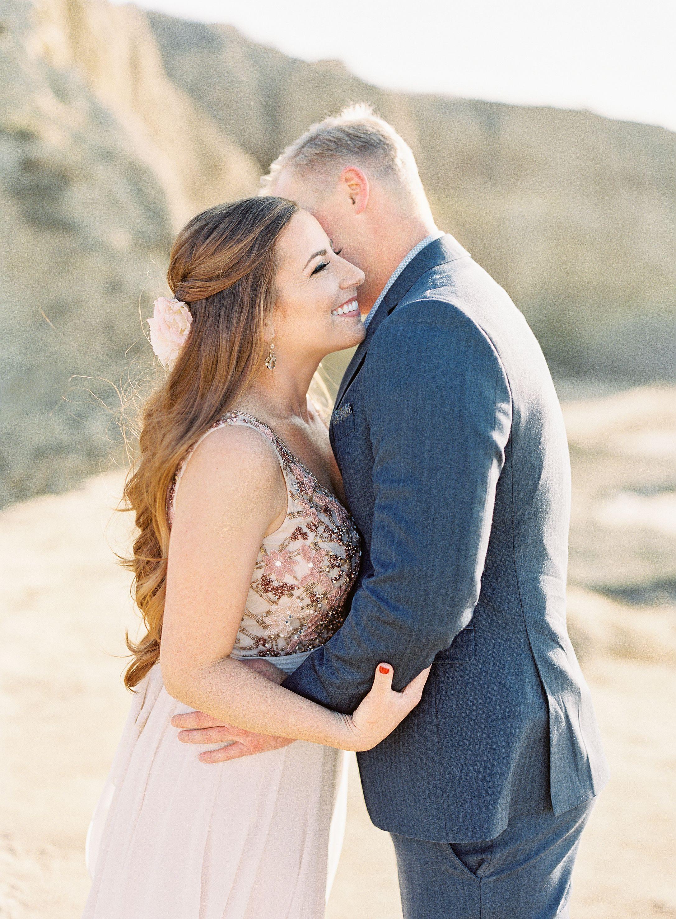 Sunset Cliffs Engagement Shoot San Diego - Dear Lovers Fine
