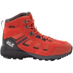 Jack Wolfskin Wasserdichte Männer Wanderschuhe Vojo Hike Extended Version Texapore Mid Men 47 orange