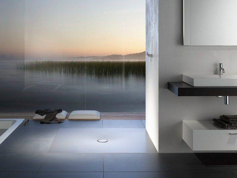 Bagni Piccoli Moderni Con Doccia : Bettefloor piatto doccia quadrato by bette design tesseraux