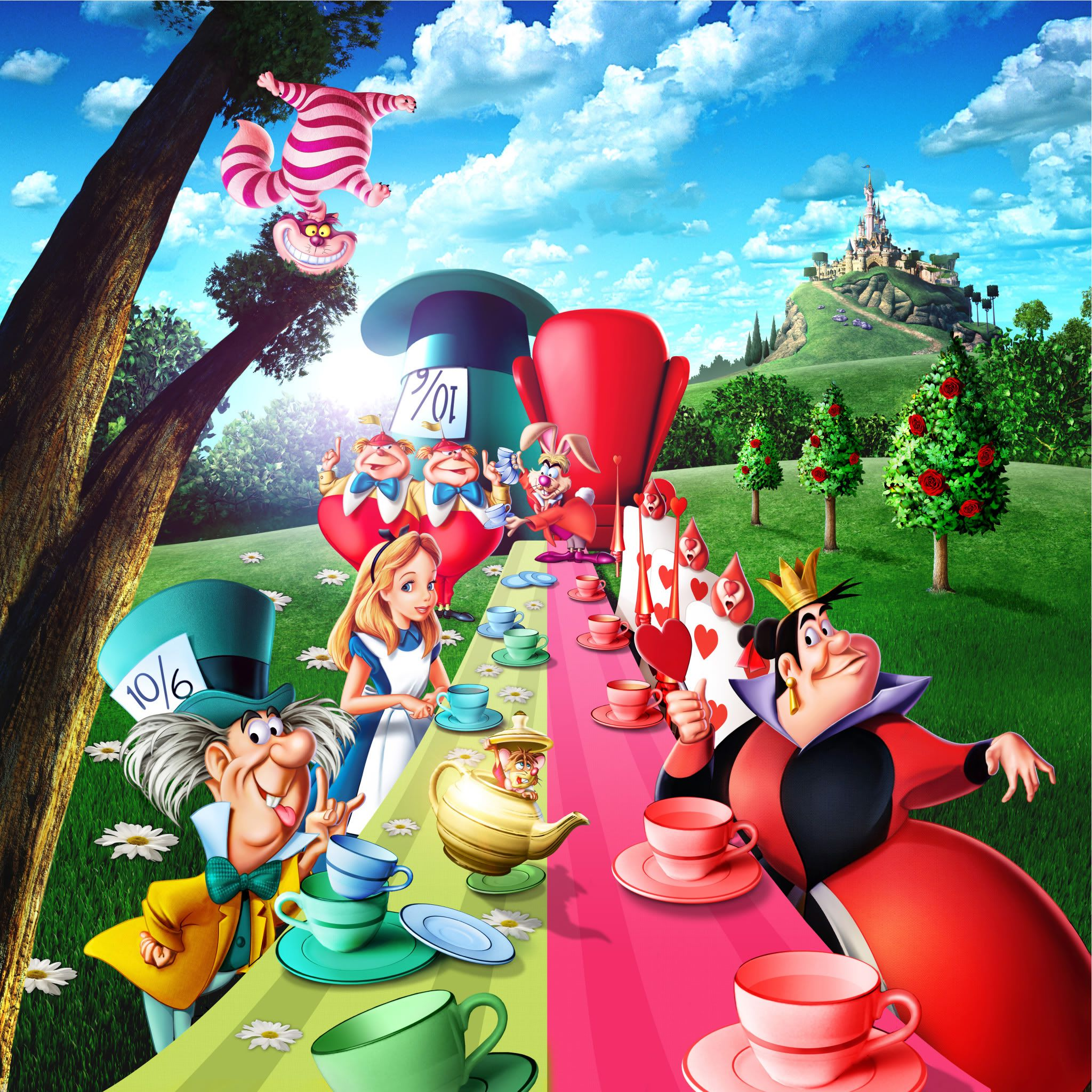 Alice In Wonderland Disney Characters: Disney