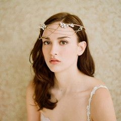 golden whimsy crown from twigs & honey