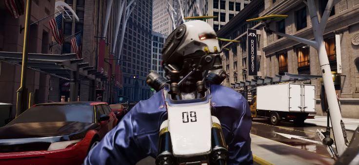 Robo Recall es posiblemente el que más carisma muestre de todos los juegos mostrados en la Oculus Connect