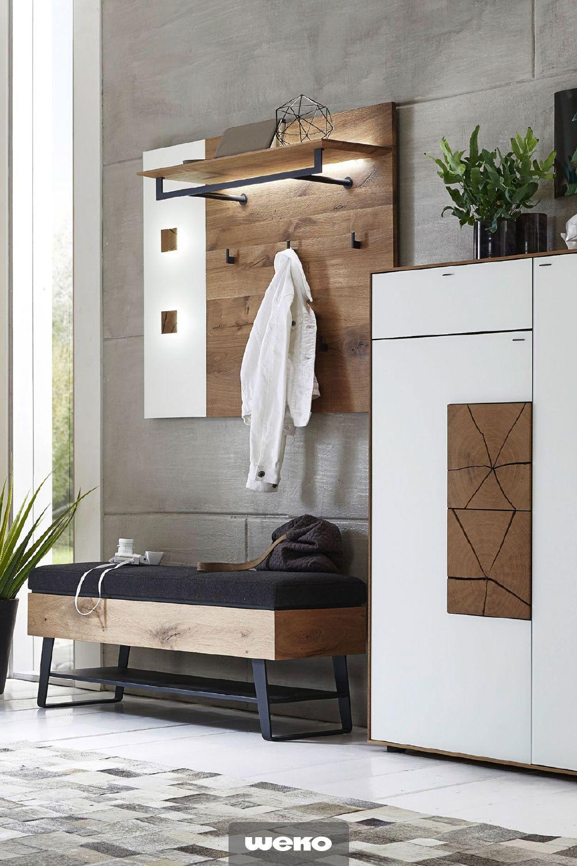 Modernes Garderobenprogramm #rusticbedroomfurniture