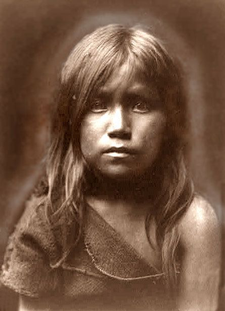 Hopi child  Papers-etc