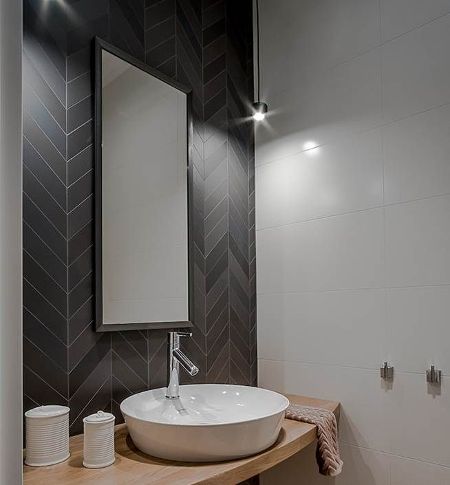 13 Dreamy Bathroom Lighting Ideas: Jacek Tryc - Architekt Wnętrz