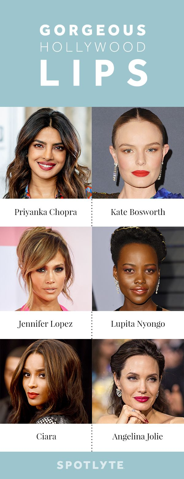 Hollywood's Most Gorgeous Lips — And What Makes Them So Beautiful