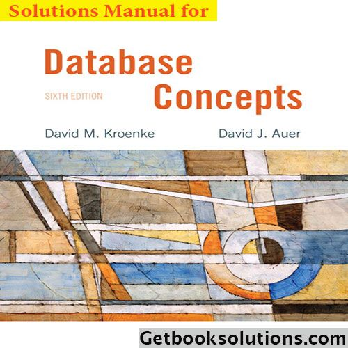 Database Concepts 6th Edition Kroenke Pdf