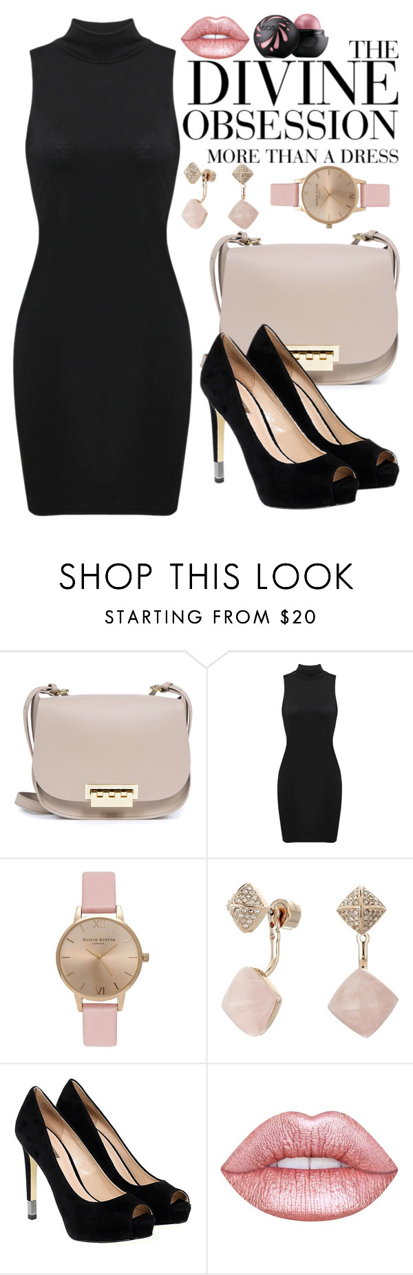 """""""Untitled #224"""" by anna-nedelcheva ❤ liked on Polyvore featuring ZAC Zac Posen, Vera Wang, Topshop, Michael Kors, GUESS and Lime Crime"""