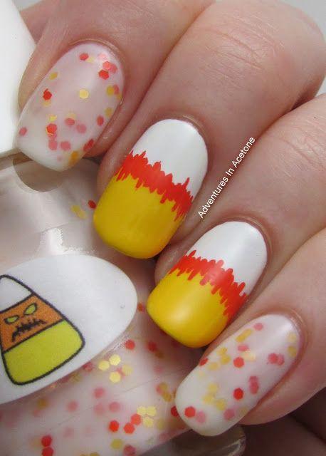 Adventures In Acetone halloween  #nail #nails #nailart