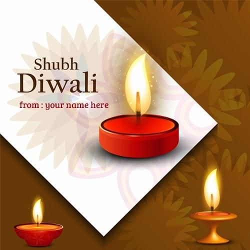Generate shubh diwali greeting cards with my name print generate shubh diwali greeting cards with my name print personalized happy diwali wishes greeting card m4hsunfo Gallery