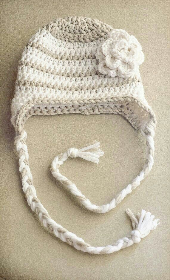 Gorrito | bebes | Pinterest | Crochet, Crochet baby and Baby hats