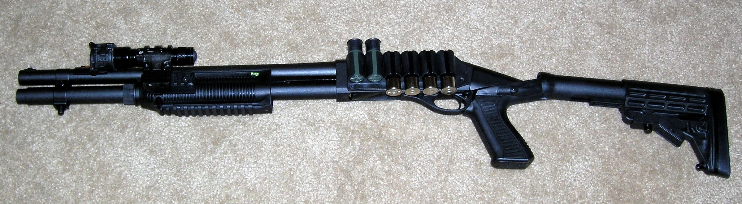 the 12 gauge remington 870 express magnum modified of course