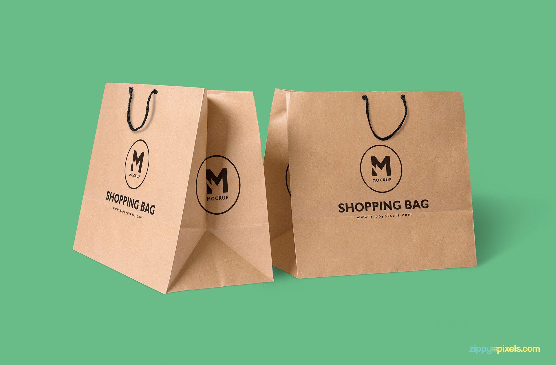 Download Paper Bag Mockup Free Psd Download Zippypixels Bag Mockup Print On Paper Bags Free Packaging Mockup