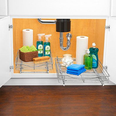 Ordinaire Lynk Professional Wide Roll Out Under Cabinet Single Drawer Under Sink  And/or Pantry Pullout Drawers. Under Sink. Pull Out Drawers.