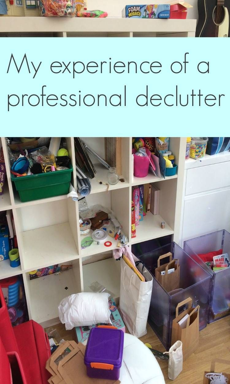 My experience of a professional declutter Declutter