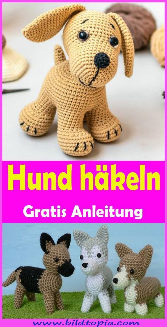 Photo of Häkeln Sie Hund  Free & Easy Instructions  Kleiner Balkon Ideen   – Meine Liebl…