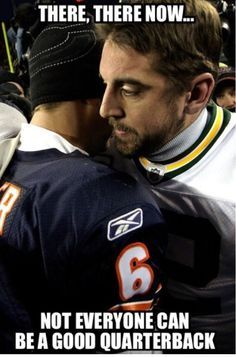 Great Discussions Between Cutler And Rodgers Green Bay Packers Vs Chicago Bears Packers Funny Green Bay Packers