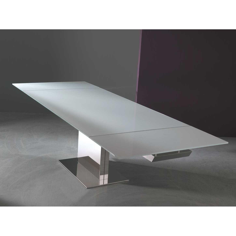 Tavolo Con Piede Centrale tavolo magnum tondo fisso base cemento bontempi casa