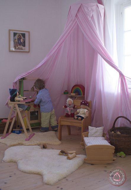 Sch nes kinderzimmer dreamhouse pinterest sch ne kinderzimmer kinderzimmer und sch ner - Moskitonetz kinderzimmer ...