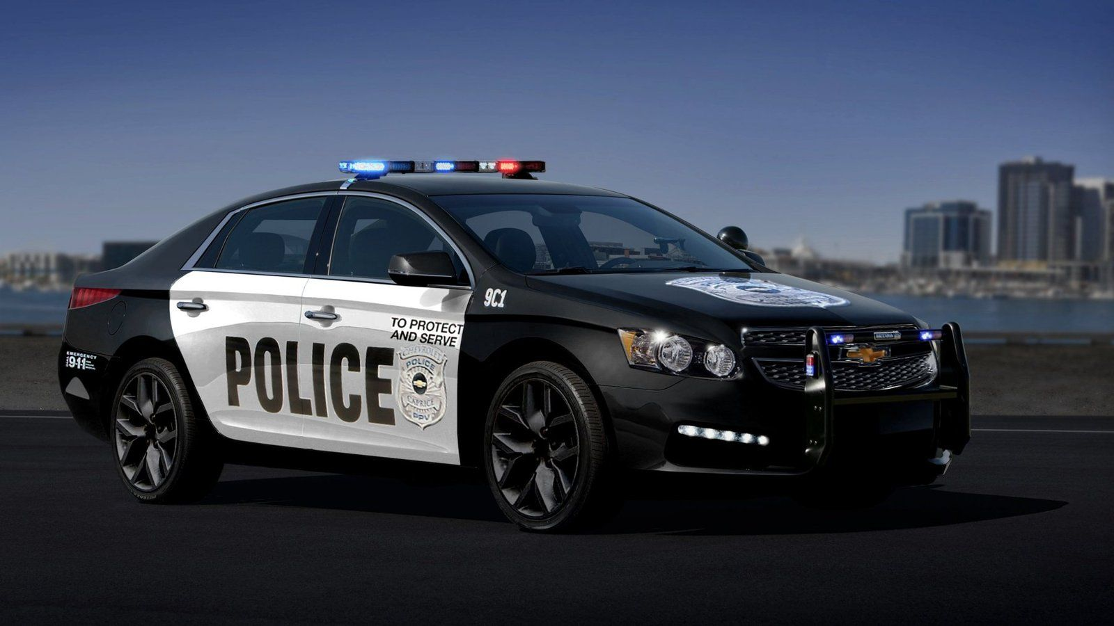 2017 Chevy Impala Police Package