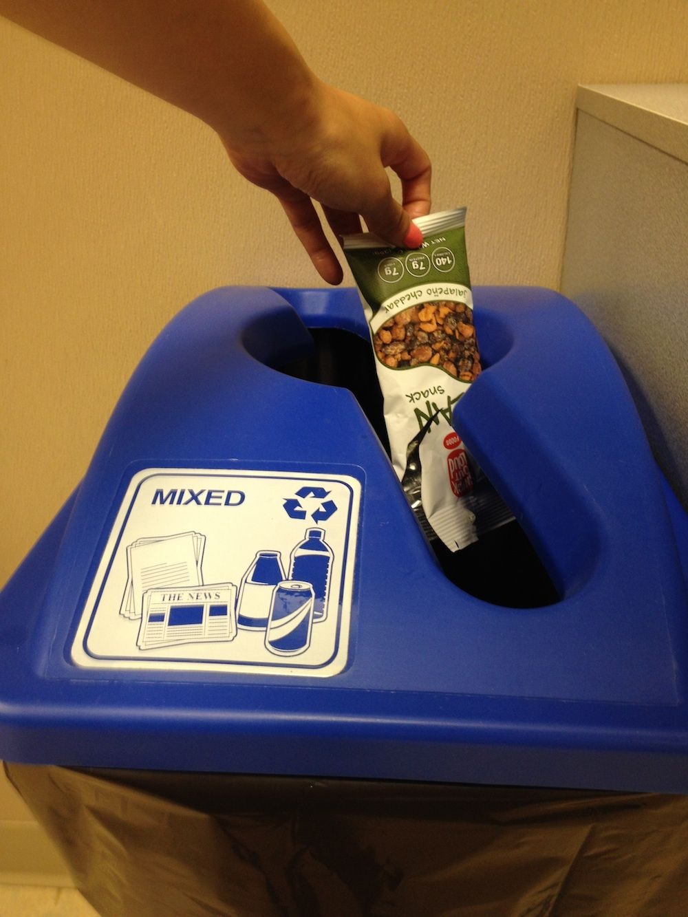 Recycled & Recyclable. We do our part! #Green #Recycle