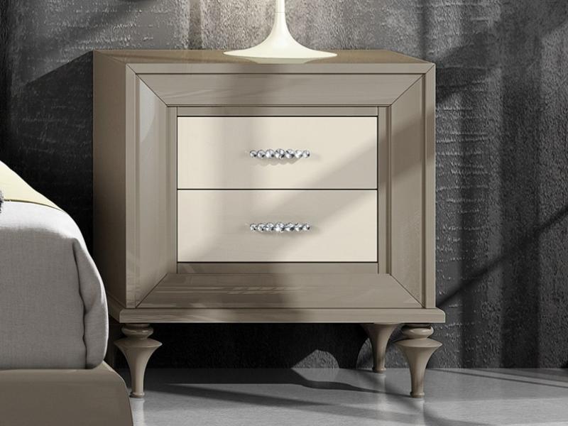 2 Chevets Avec 2 Tiroirs Mod Ga1303 Meubles En Bois Modernes Mobilier De Salon Meuble Chambre A Coucher
