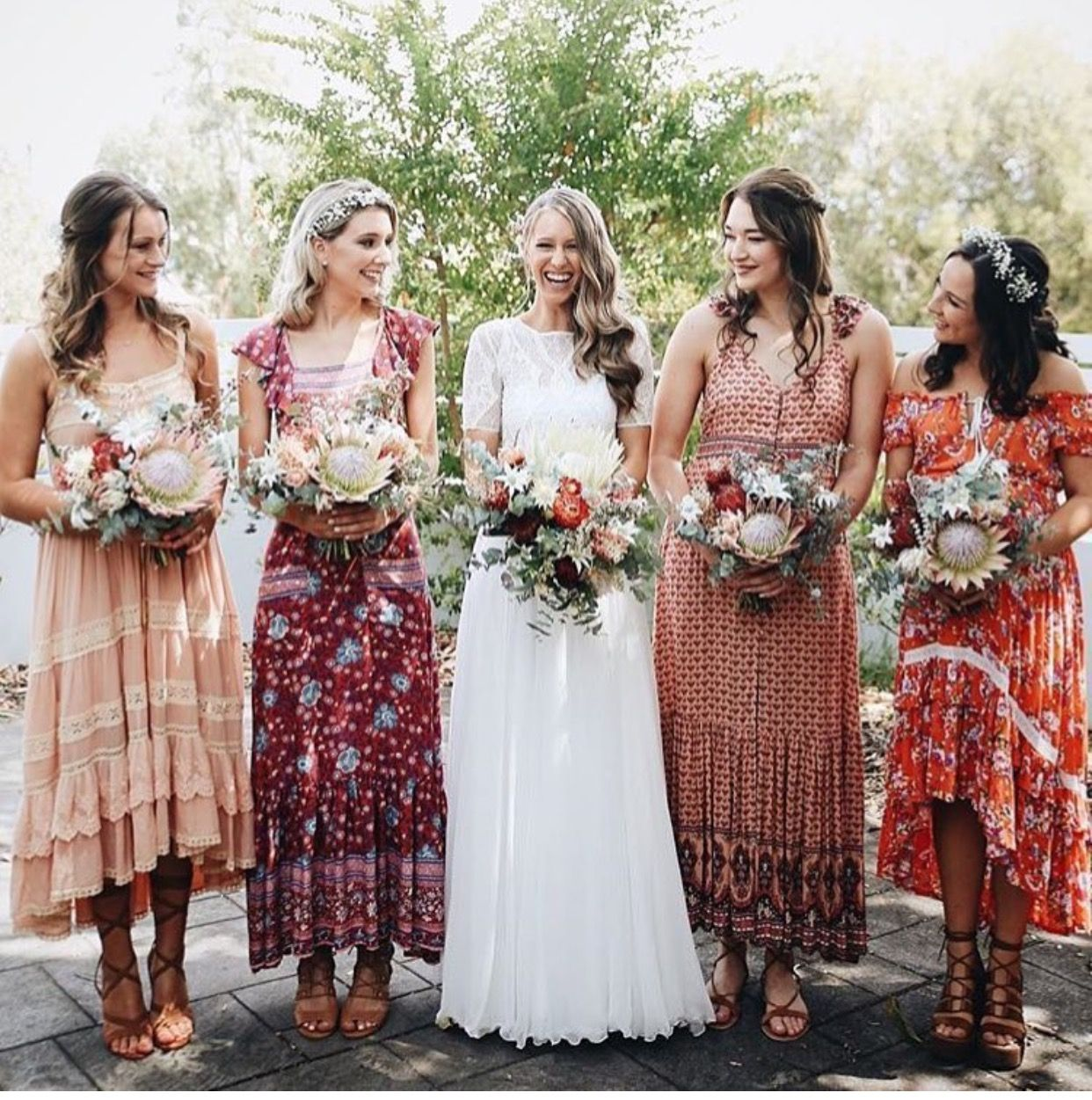 Beachy Boho Bridesmaid Dresses Bridesmaid Dresses Boho Wedding Dress Inspiration Bohemian Wedding Dresses